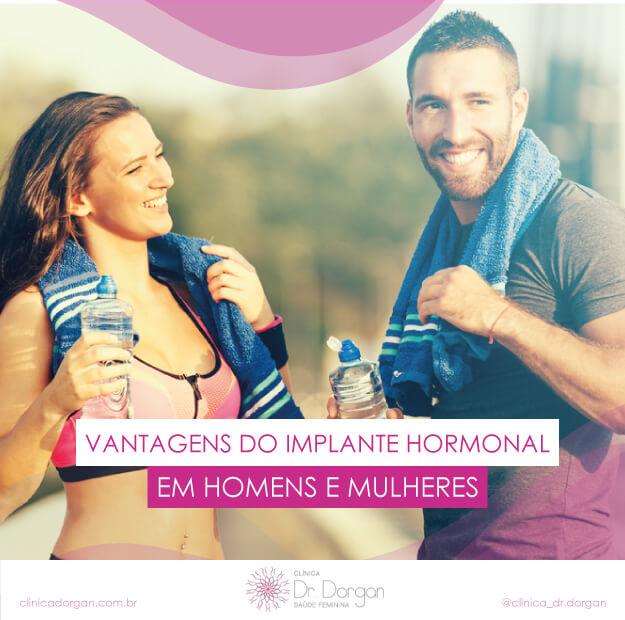 Vantagens do Implante Hormonal para Homens e Mulheres - Clínica Doutor Dorgan