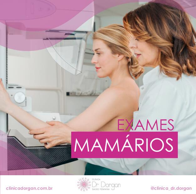 Exames de Mama - Clínica Doutor Dorgan