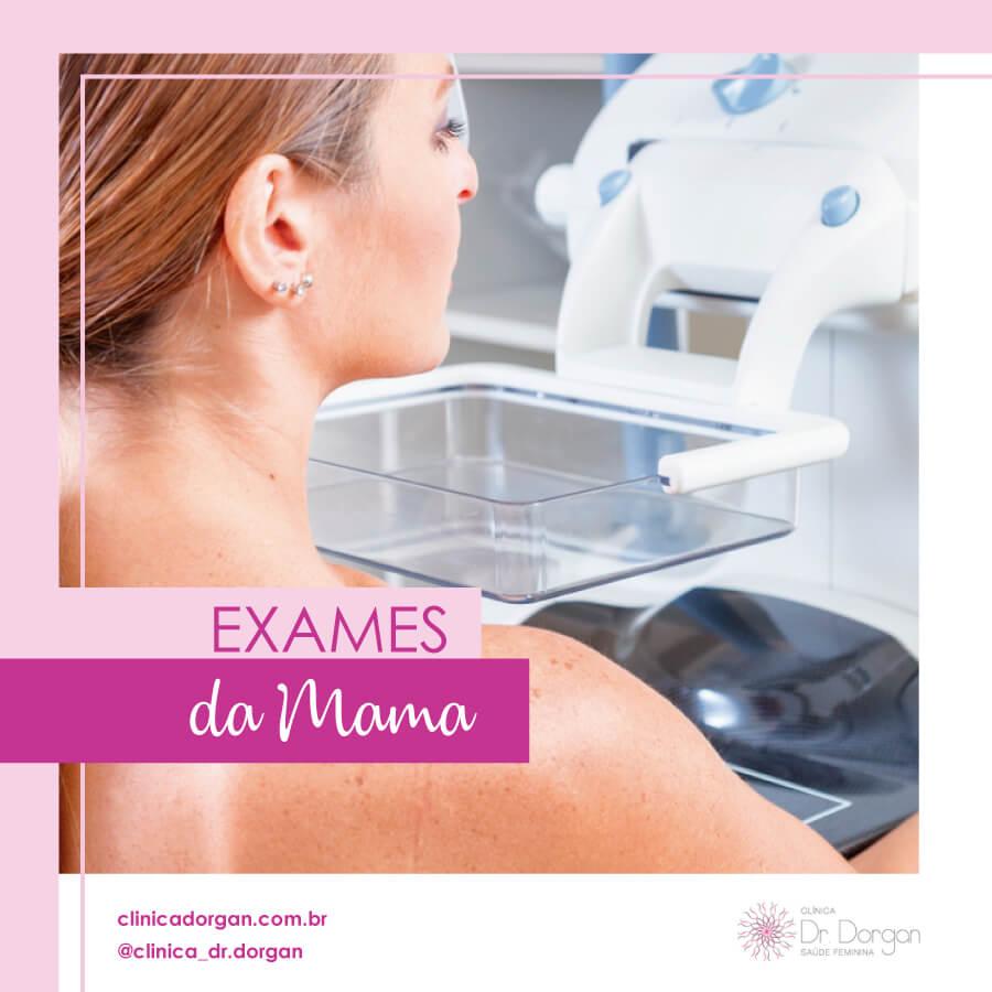 Exames da Mama - Clínica Doutor Dorgan